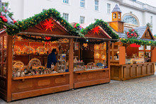 Christmas Market In Opernpalais At Mitte In Winter Berlin