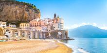 Morning View Of Amalfi Citysca...