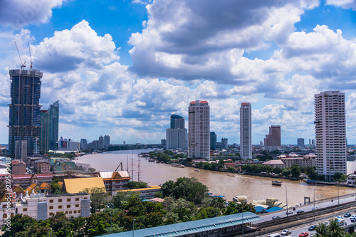 Poster Australie Overview of Bangkok
