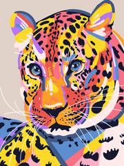 Panel Szklany Eko Amur Leopard