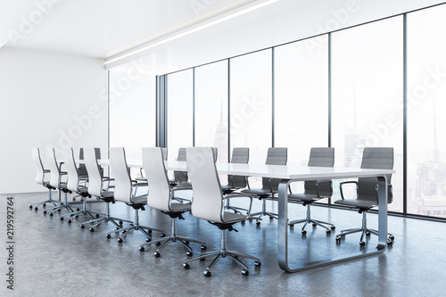 Fototapety, obrazy: Clean conference room interior