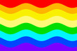 canvas print picture - Colors of the LGBT Flag is a symbol of identity. Rainbow pride flag-the banner of freedom of homosexuals.