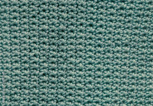 Fotografie, Obraz  Blue Crochet