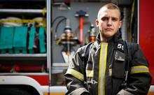 Photo Of Fireman Near Fire Eng...