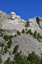 View On Mount Rushmore, South Dakota, USA