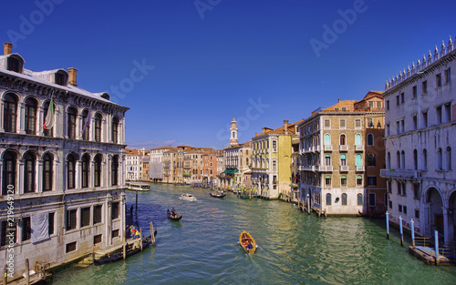 Foto op Plexiglas Venetie Grand Canal in Venice city, Italy
