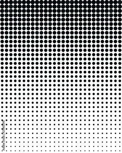 Photo  Seamless vector pattern with blend black dots, background