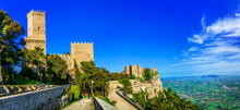 Landmarks Of Italy - Medieval Erice Town In Sicily