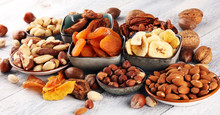 Dried Fruits And Assorted Nuts...