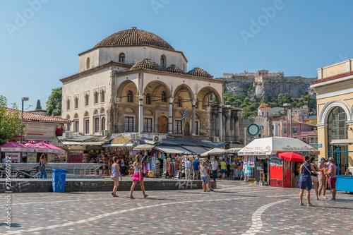 Place Monastiráki à Athènes