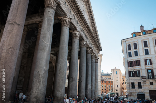 Photo  Pantheon in Rome, Italy