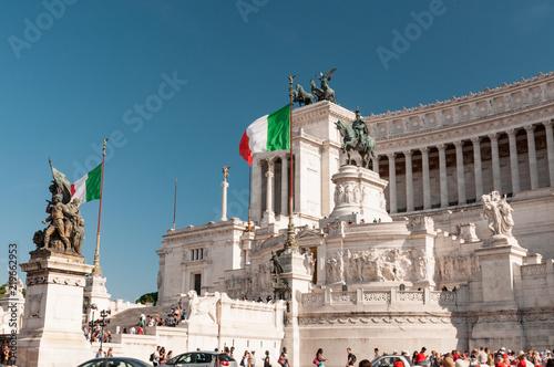 Photo  Altare della Patria in Rome, Italy