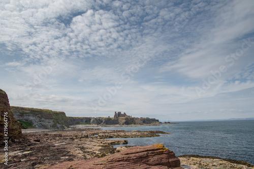Tuinposter Canarische Eilanden Tantallon Castle North Berwick