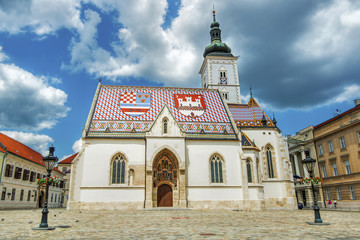 Crkva sv. Marka, Zagreb (Hrvatska)