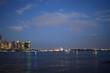 skyline, city, manhattan, landscape, sea