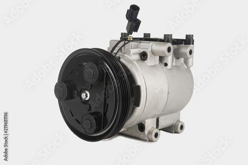 AC copressor isolatet on white Fototapet