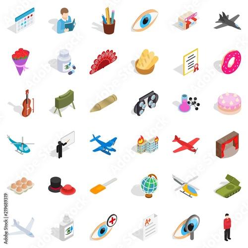 Foto  Vocation icons set