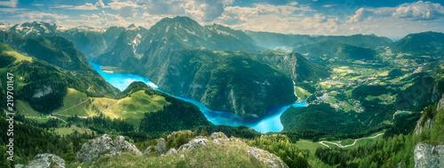 Fotografia Konigsee lake in Berchtesgaden National Park