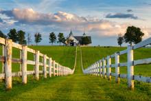Scenic Horse Barn Along Kentucky's Back Roads