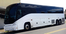 Charter Tour Bus Parked  On Ur...