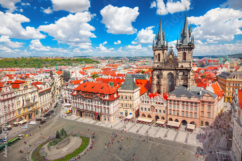 Canvas Prints Prague Old Town Square in Prague