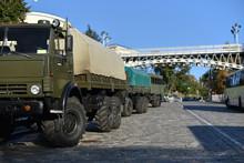 Military Passenger Truck Vehic...