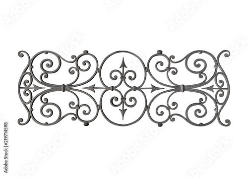 Photo Cast iron decoration