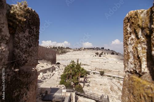 Cuadros en Lienzo City of David -  Mount of Olives