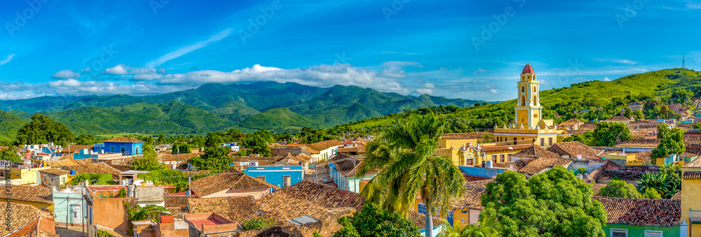 Fotografija  Trinidad, Cuba: Aerial view of the former Saint Francis of Assisi Convent