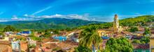 Trinidad, Cuba: Aerial View Of...
