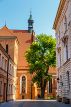 Architecture Of Bydgoszcz City At Brda River In Poland, Poland