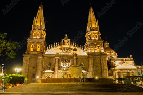 Church in Guadalajara, Mexico