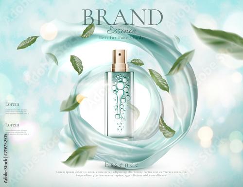 Fototapeta  Refreshing skincare spray ads