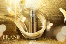 Luxury Golden Skincare Spray