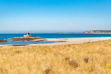 La Rocco Tower And St Ouen's Bay On The Island Of Jersey