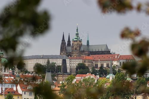 Staande foto Praag Prague Castle and Saint Vitus Cathedral, Czech Republic.