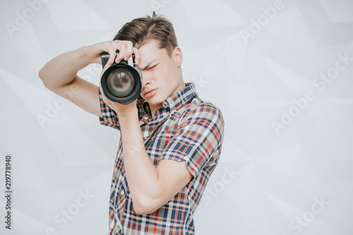 Fotografia  Happy photographer