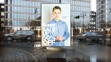 Sale Advertisement On Billboar...