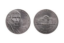 USA Half Dime Nickel Coin (25 ...