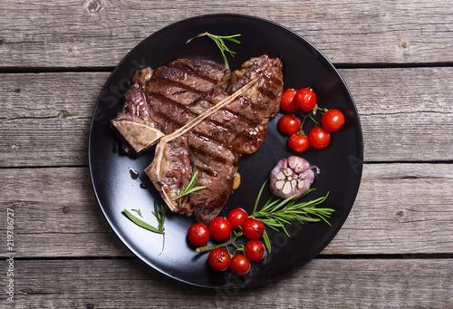 Papiers peints Steakhouse Grilled porterhouse beef steak