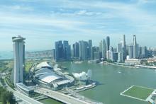 シンガポール マリーナベイサンズ 風景