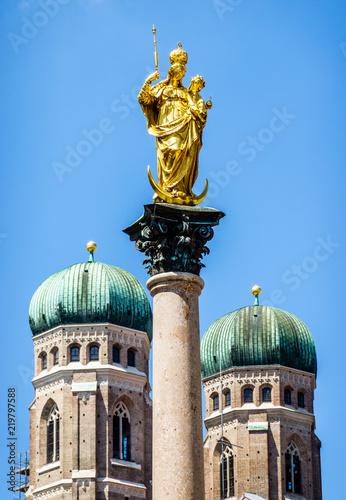 Foto op Aluminium Historisch mon. munich city hall