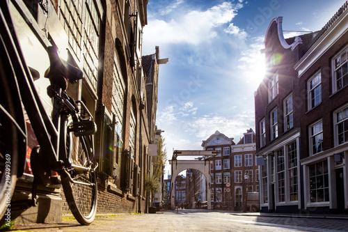 Obrazy architektura architektura-uliczki-amsterdamu