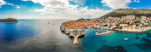 Aerial View Of Dubrovnik Old City In Summer, Croatia