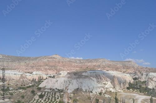 Foto op Plexiglas Donkergrijs Cappadocia