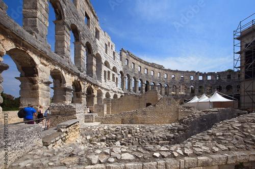 Keuken foto achterwand Theater Amphitheater