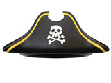Pirate hat isolated on white background 3d rendering