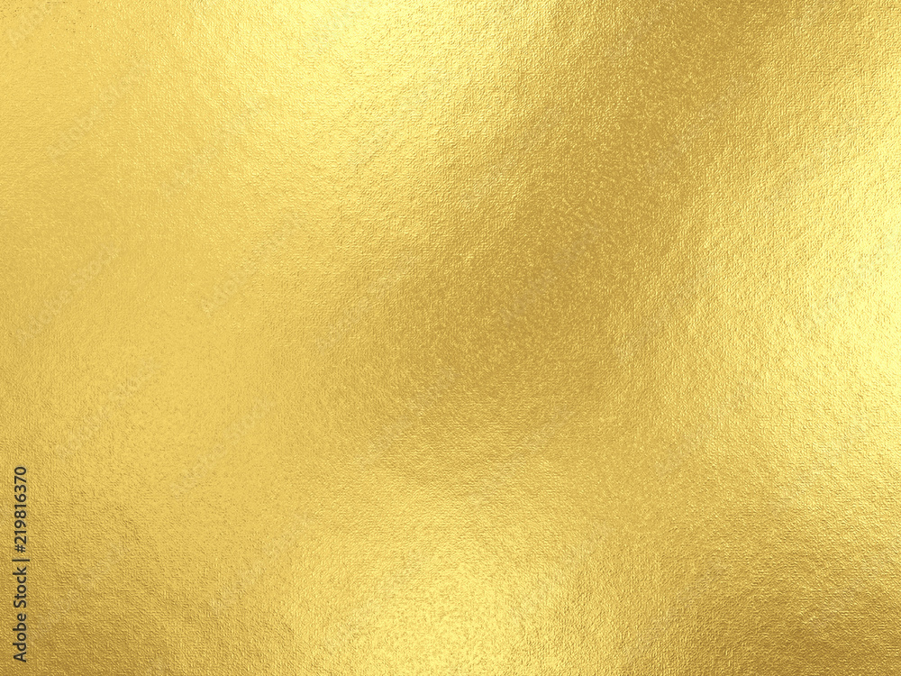 Fototapety, obrazy: Gold foil background with light reflections