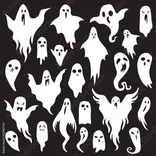 Halloween ghosts фототапет