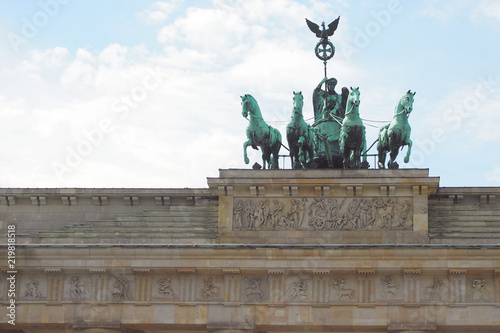 Photo Brandenburg Gate (Brandenburger Tor) in Berlin, Germany
